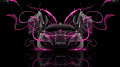 Monster-Energy-McLaren-MP4-12C-Open-Doors-Pink-Neon-Plastic-Car-2014-design-by-Tony-Kokhan-[www.el-tony.com]