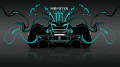 Monster-Energy-McLaren-P1-Back-Azure-Neon-Plastic-Car-2014-design-by-Tony-Kokhan-[www.el-tony.com]