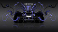 Monster-Energy-McLaren-P1-Back-Blue-Neon-Plastic-Car-2014-design-by-Tony-Kokhan-[www.el-tony.com]