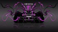 Monster-Energy-McLaren-P1-Back-Pink-Neon-Plastic-Car-2014-design-by-Tony-Kokhan-[www.el-tony.com]