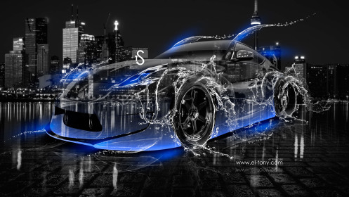 Nissan-370Z-JDM-Crystal-City-Water-Car-2014-Blue-Neon-design-by-Tony-Kokhan-[www.el-tony.com]