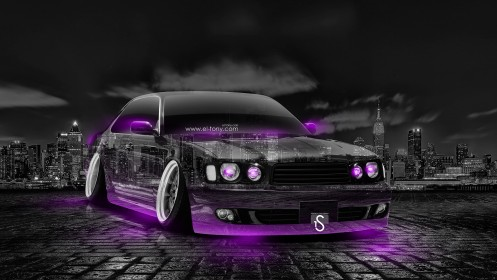 Nissan-Cedric-JDM-Tuning-Crystal-City-Car-2014-Violet-Neon-design-by-Tony-Kokhan-[www.el-tony.com]