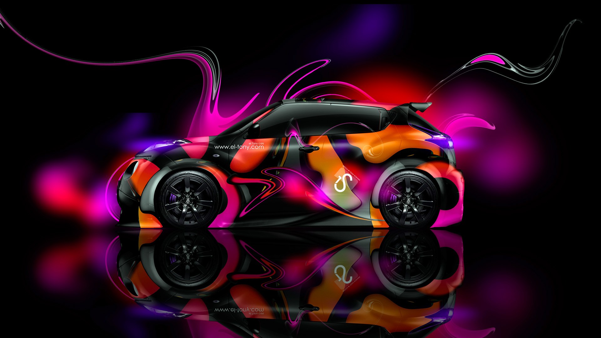 Nissan Juke R Super Abstract Car 2014 HD