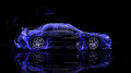 Nissan-Skyline-GTR-R32-JDM-Side-Blue-Fire-Abstract-Car-2014-design-by-Tony-Kokhan-[www.el-tony.com]