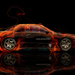 Nissan Skyline GTR R32 JDM Side Fire Abstract Car 2014