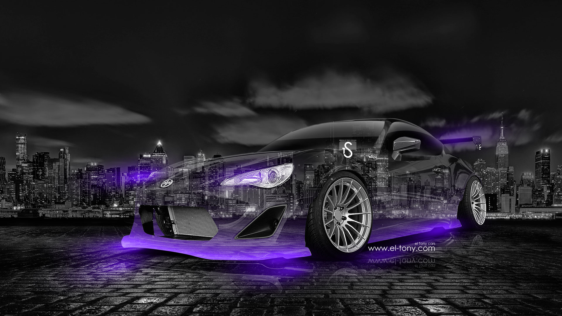 Scion-FR-S-Crystal-City-Car-2014-Violet-Neon-design-by-Tony-Kokhan-[www.el-tony.com]