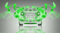 Smart-For-Speed-Green-Flowers-Neon-Car-2014-HD-Wallpapers-design-by-Tony-Kokhan-[www.el-tony.com]