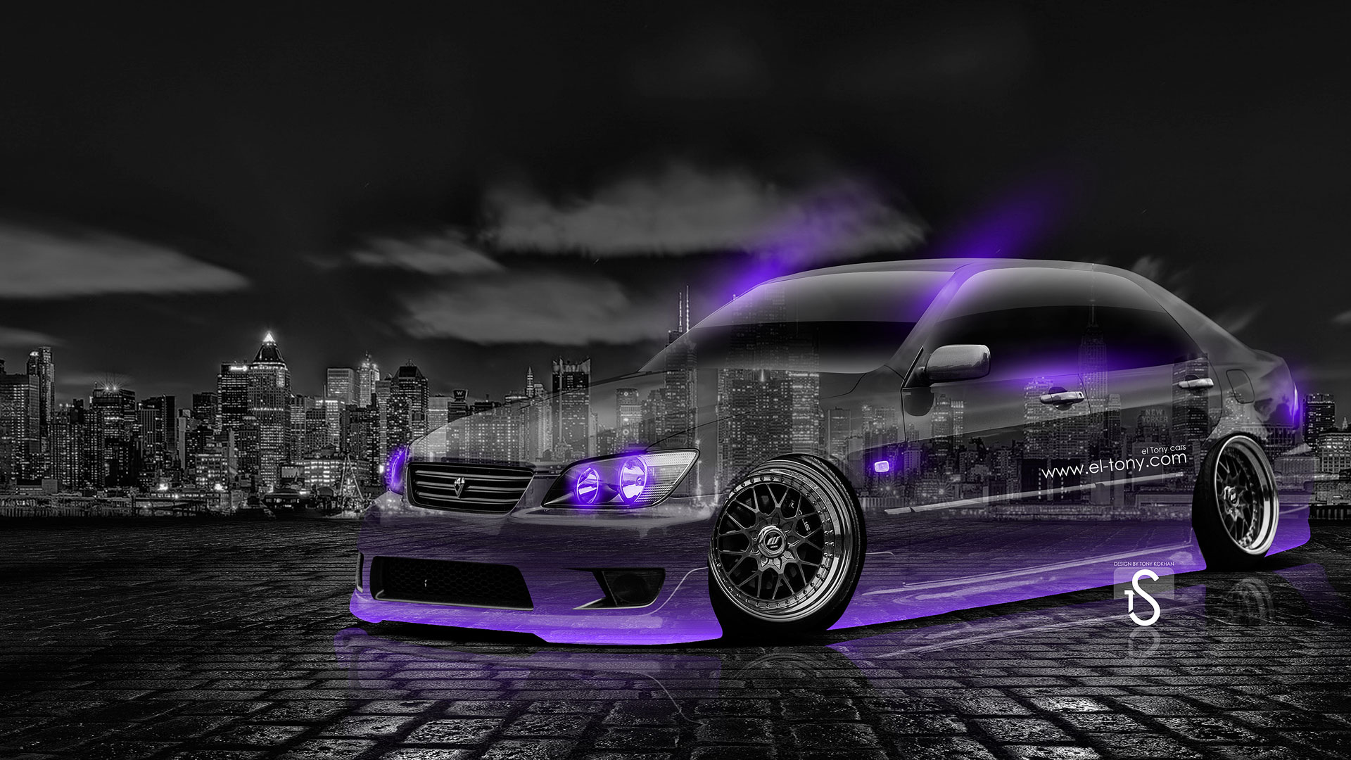 Awesome Toyota Altezza JDM Crystal City Car 2014 Violet