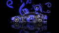 Toyota-Altezza-JDM-Effects-Blue-Abstract-Car-2014-HD-Wallpapers-design-by-Tony-Kokhan-[www.el-tony.com]
