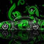 Toyota Altezza JDM Effects Abstract Car 2014
