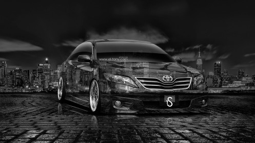 Toyota-Camry-Tuning-Crystal-City-Car-2014-HD-Wallpapers-design-by-Tony-Kokhan-[www.el-tony.com]