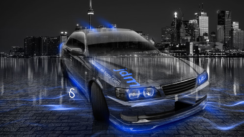 Toyota-Chaser-JZX100-JDM-Crystal-Up-City-Car-2014-Blue-Neon-design-by-Tony-Kokhan-[www.el-tony.com]
