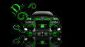Toyota-Chaser-JZX100-JDM-Effects-Front-Green-Abstract-Car-2014-design-by-Tony-Kokhan-[www.el-tony.com]