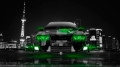 Toyota-Chaser-JZX100-JDM-Front-Crystal-City-Car-2014-Green-Neon-design-by-Tony-Kokhan-[www.el-tony.com]