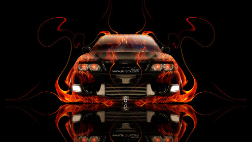 Toyota-Chaser-JZX100-JDM-Front-Fire-Car-2014-HD-Wallpapers-design-by-Tony-Kokhan-[www.el-tony.com]
