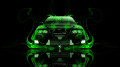 Toyota-Chaser-JZX100-JDM-Front-Green-Fire-Car-2014-HD-Wallpapers-design-by-Tony-Kokhan-[www.el-tony.com]