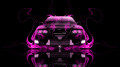 Toyota-Chaser-JZX100-JDM-Front-Pink-Fire-Car-2014-HD-Wallpapers-design-by-Tony-Kokhan-[www.el-tony.com]