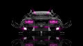 Toyota-Chaser-JZX100-JDM-Front-Water-Car-2014-Pink-Neon-design-by-Tony-Kokhan-[www.el-tony.com]
