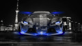 Toyota-FT-1-Tuning-Front-Crystal-City-Car-2014-Blue-Neon-design-by-Tony-Kokhan-[www.el-tony.com]
