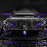 Toyota GT-86 Tuning Front Crystal City Car 2014
