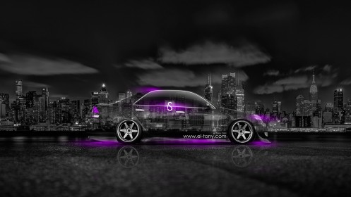 Toyota-Mark-2-JZX110-JDM-Side-Crystal-City-Car-2014-Violet-Neon-design-by-Tony-Kokhan-[www.el-tony.com]