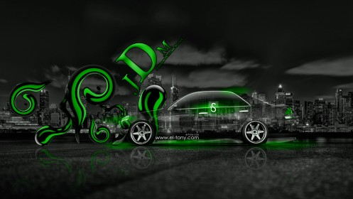 Toyota-Mark2-JZX110-Green-JDM-Effects-Side-Crystal-City-Car-2014-design-by-Tony-Kokhan-[www.el-tony.com]