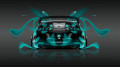 Toyota-Supra-JDM-Back-Azure-Plastic-Car-2014-HD-Wallpapers-design-by-Tony-Kokhan-[www.el-tony.com]