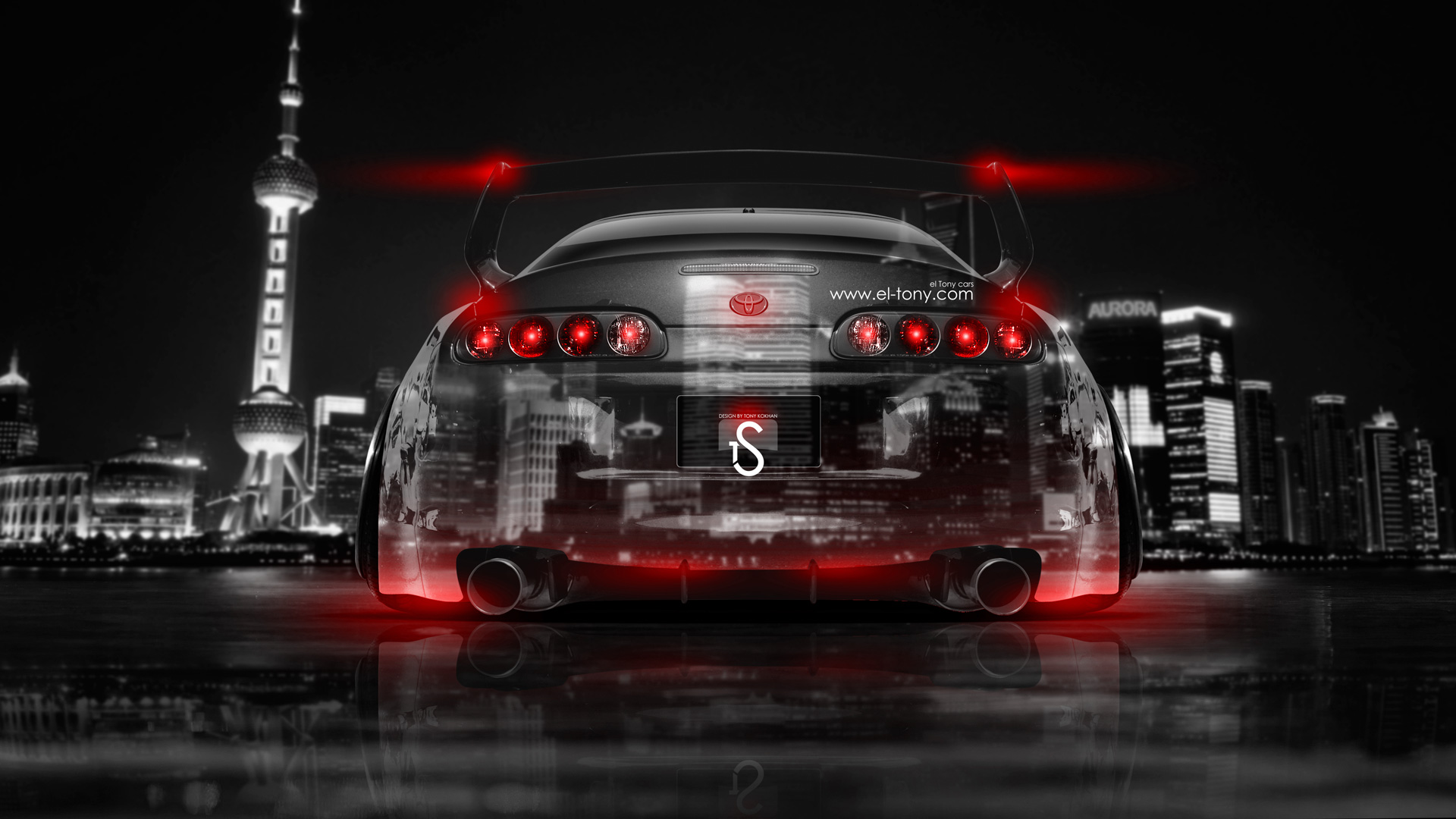 Exceptionnel ... Toyota Supra JDM Back Crystal City Car 2014  ...