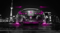 Toyota-Supra-JDM-Back-Crystal-City-Car-2014-Pink-Neon-HD-Wallpapers-design-by-Tony-Kokhan-[www.el-tony.com]
