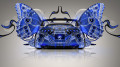 Toyota-Supra-JDM-Back-Fantasy-Butterfly-Car-2014-Blue-Colors-design-by-Tony-Kokhan-[www.el-tony.com]