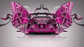 Toyota-Supra-JDM-Back-Fantasy-Butterfly-Car-2014-Pink-Colors-design-by-Tony-Kokhan-[www.el-tony.com]