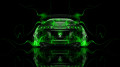 Toyota-Supra-JDM-Back-Green-Fire-Car-2014-HD-Wallpapers-design-by-Tony-Kokhan-[www.el-tony.com]