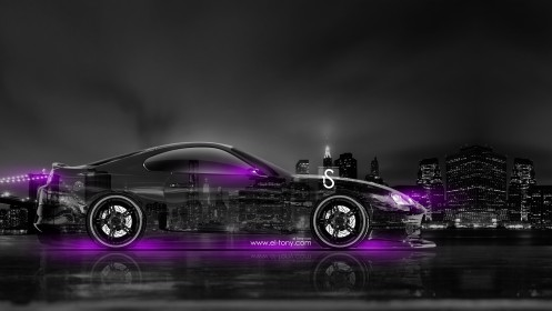 Toyota-Supra-JDM-Side-Crystal-City-Car-2014-Violet-Neon-design-by-Tony-Kokhan-[www.el-tony.com]