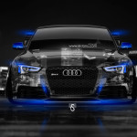Audi RS5 Tuning Front Crystal City Car 2014