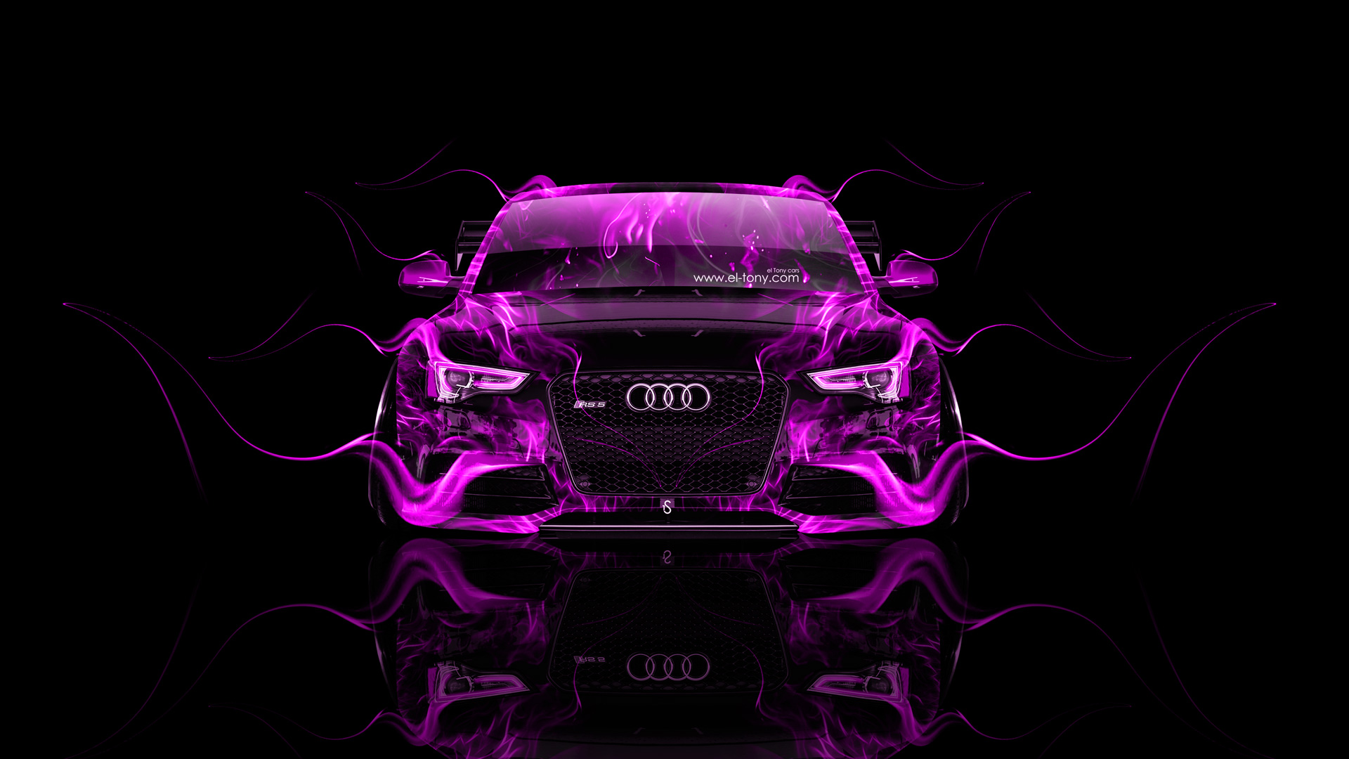 Audi rs5 tuning front fire car 2014 el tony - Best wallpapers for s5 ...