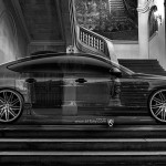 Audi S7 Side Crystal Home Car 2014