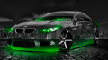 BMW-E92-M3-Crystal-City-Car-2014-Green-Neon-HD-Wallpapers-design-by-Tony-Kokhan-[www.el-tony.com]