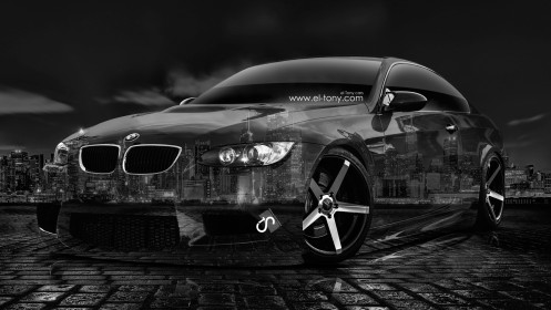 BMW-E92-M3-Crystal-City-Car-2014-HD-Wallpapers-design-by-Tony-Kokhan-[www.el-tony.com]
