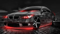 BMW-E92-M3-Crystal-City-Car-2014-Orange-Neon-HD-Wallpapers-design-by-Tony-Kokhan-[www.el-tony.com]