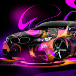 BMW E92 M3 Super Abstract Car 2014