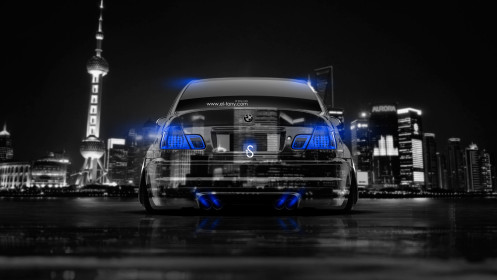 BMW-M3-Back-Crystal-City-Car-2014-Blue-Neon-design-by-Tony-Kokhan-[www.el-tony.com]