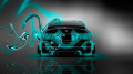 BMW-M3-Back-Plastic-Azure-Neon-Car-2014-HD-Wallpapers-design-by-Tony-Kokhan-[www.el-tony.com]