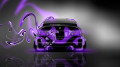 BMW-M3-Back-Plastic-Violet-Neon-Car-2014-HD-Wallpapers-design-by-Tony-Kokhan-[www.el-tony.com]