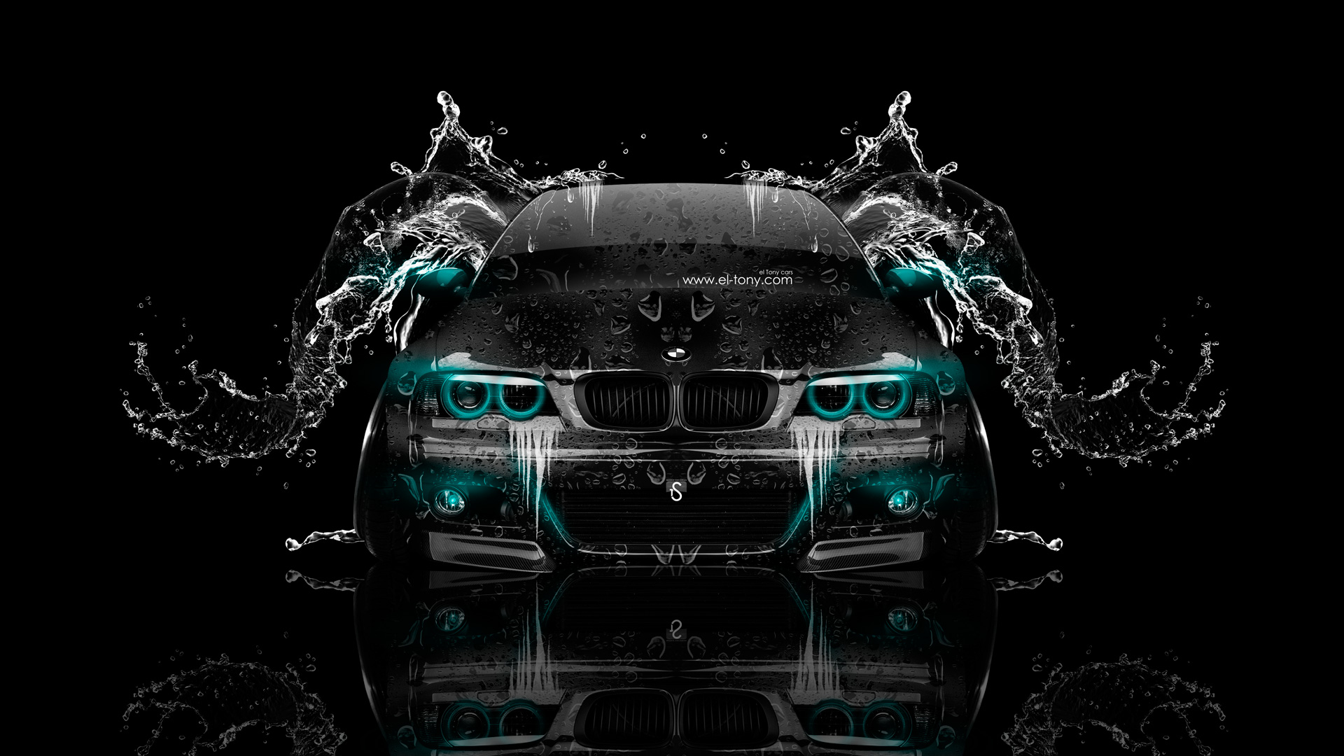 BMW M3 E46 Front Water Car 2014 el Tony