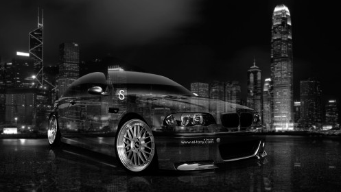 BMW-M3-Front-Side-Viiew-Crystal-City-Car-2014-HD-Wallpapers-design-by-Tony-Kokhan-[www.el-tony.com]