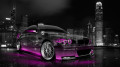 BMW-M3-Front-Side-Viiew-Crystal-City-Car-2014-Pink-Neon-HD-Wallpapers-design-by-Tony-Kokhan-[www.el-tony.com]