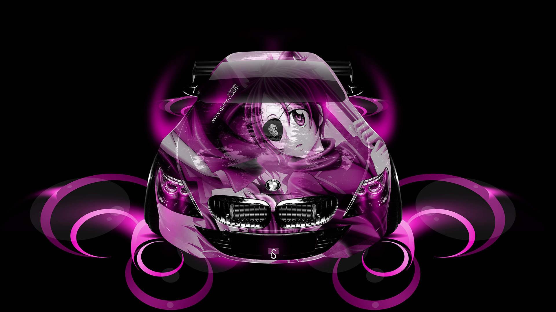 BMW M6 Anime Aerography Car 2014 | el Tony