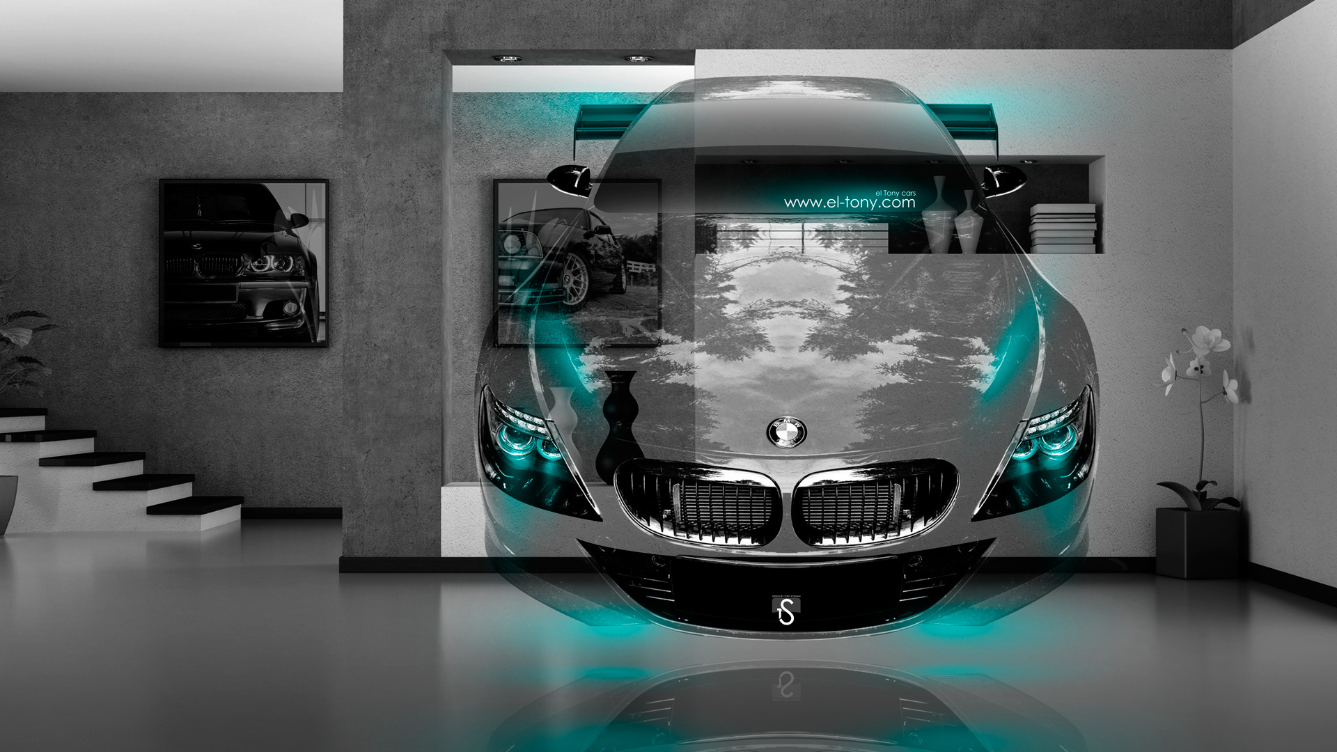 Exceptional BMW M6 Fantasy Crystal Home Fly Car 2014  ... Photo