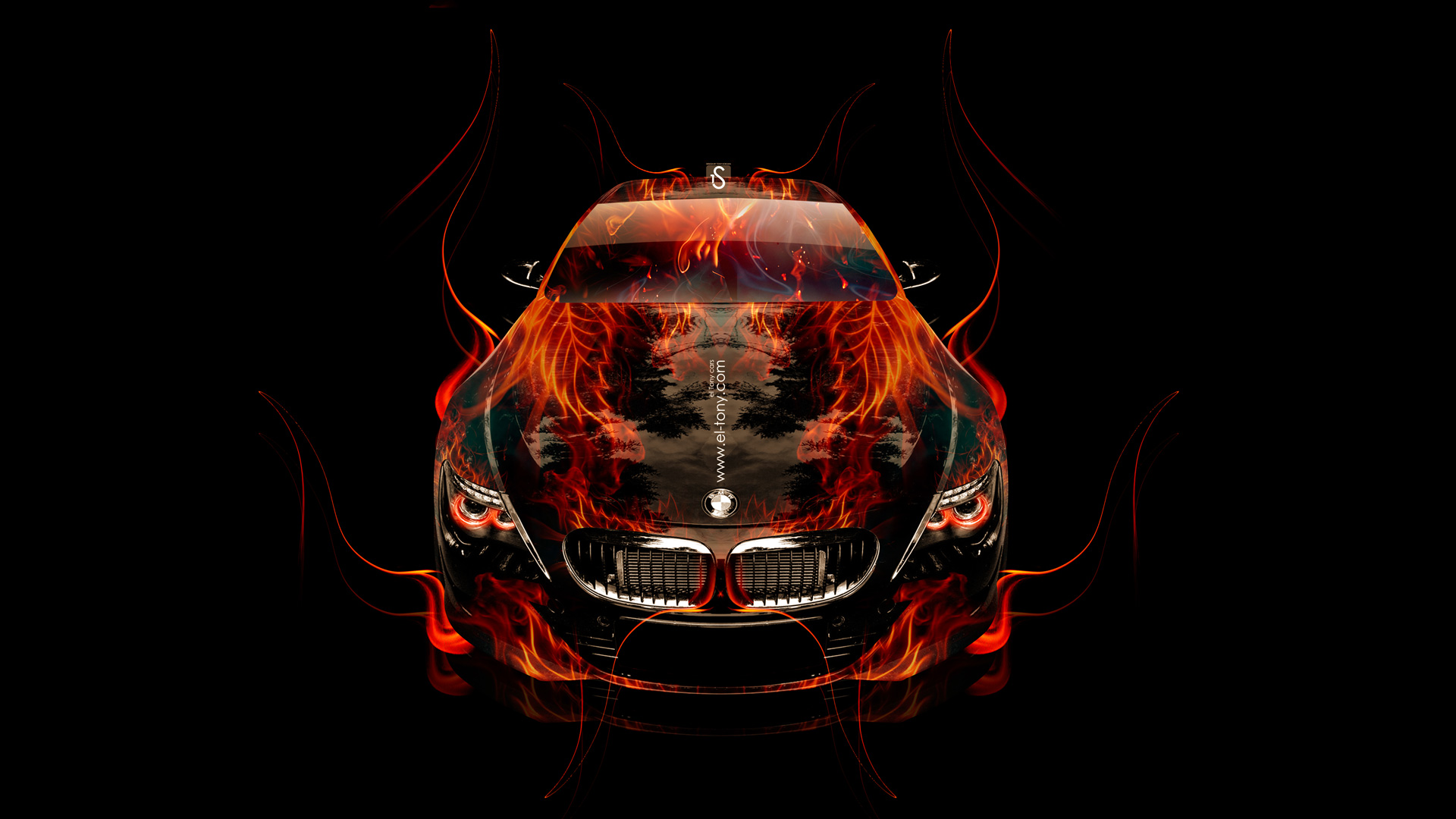 Genial BMW M6 Front Fire Up Car 2014 HD