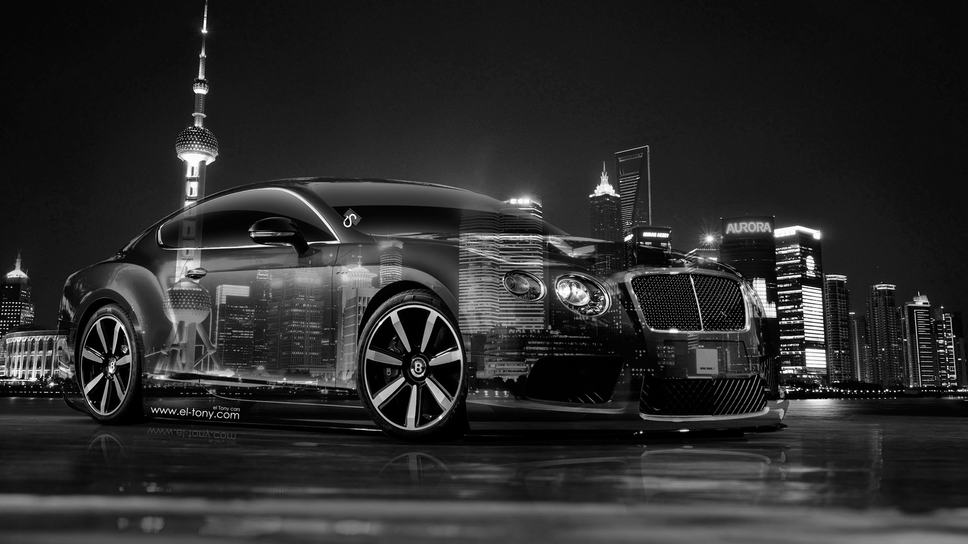 Exceptionnel Bentley Continental GT Crystal City Car 2014 HD